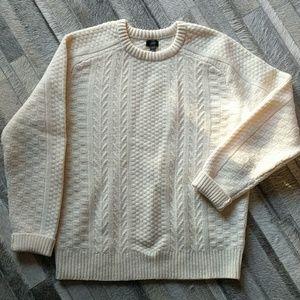 100% Wool J. Crew Men's Sweater Lg